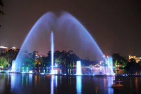 漂浮式喷泉
