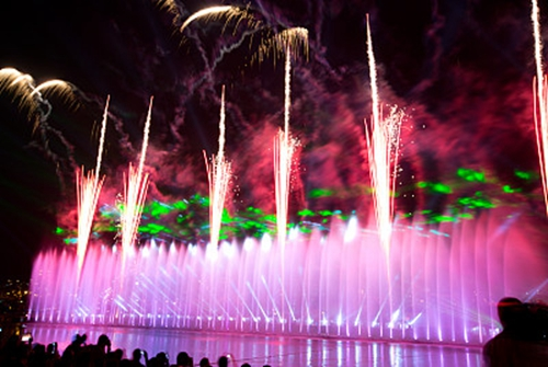 Selection of Laser in Laser Fountain Installation