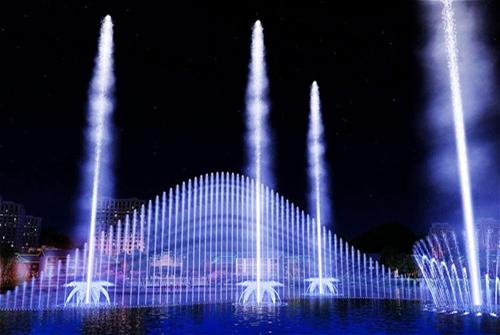 Ultra High Fountain