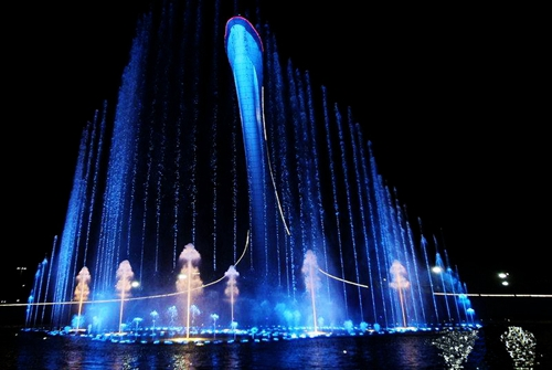 Professional fountain company introduces you to the concept and advantages of the program-controlled fountain