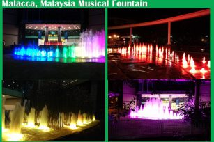Malacca, Malaysia Hotel Musical Fountain