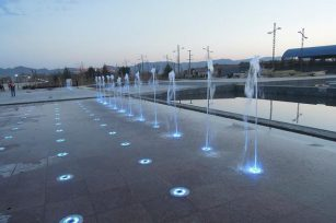 Three effects determining the effect of dry fountains