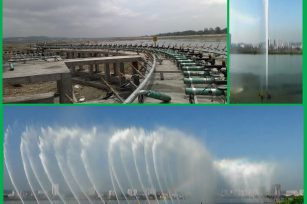 Suining River Floating Musical Fountain