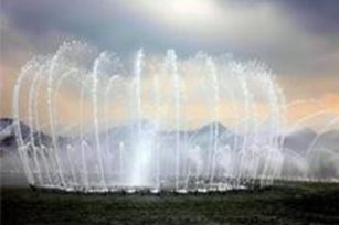 What are the performance advantages of music fountains?