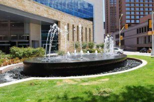 Application of Fountains in Cities