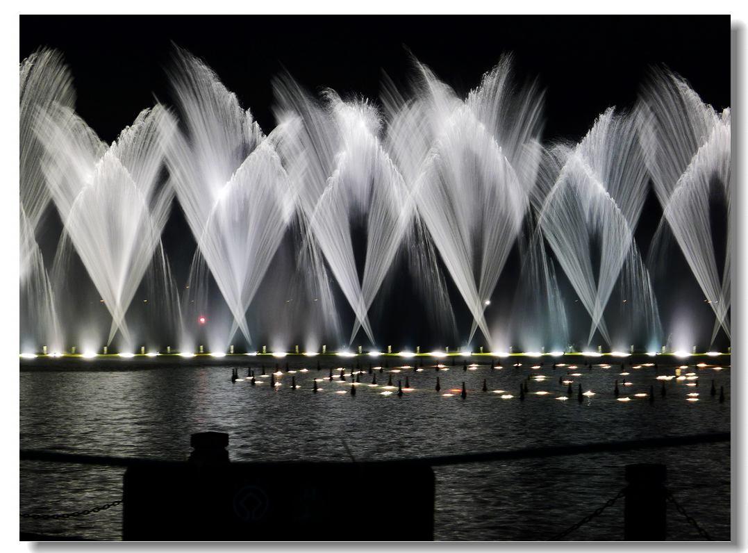 music fountains