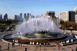 Control Mode of Waterscape Fountain