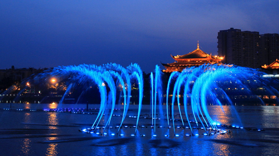 music fountain