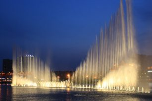 How to design a musical fountain