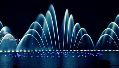 Chengdu waterscape fountains