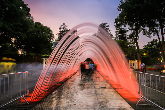 music fountain design