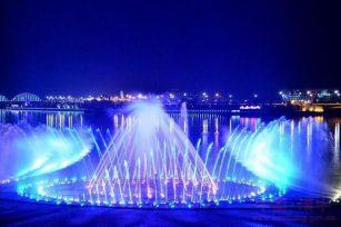 Musical fountain a magnificent feast