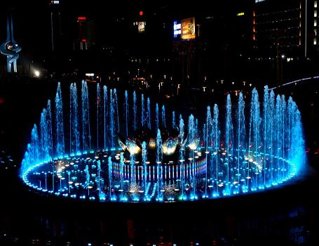 Musical Waterscape fountain