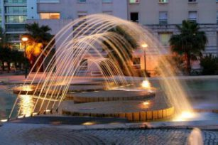 Key design points of fountain waterscape