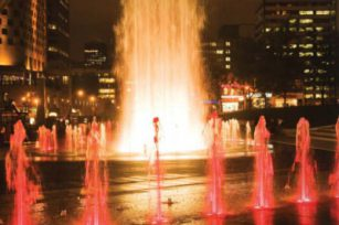 The common control system of music fountain design