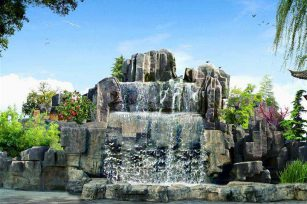 How to match the color of indoor rockery fountain? The role of indoor fountains?