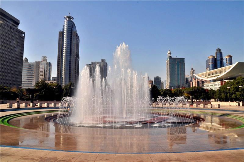 Square fountain
